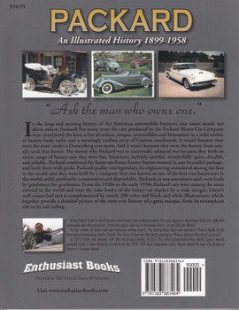 Packard - An Illustrated History 1899 -1958 (9781583883464)