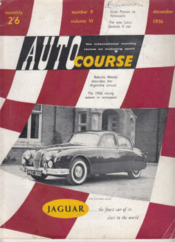 Autocourse Volume VI Number 9 December 1956 (Paperback) (B07KJPFF1X)