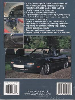 How to restore Mazda MX-5/Miata Mk 1 & 2 - Enthusiast's Restoration Manual (9781787113046)