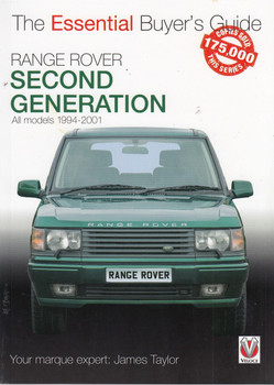 Range Rover - Second Generation All models 1994-2001 - Essential Buyer's Guide (9781787114326)