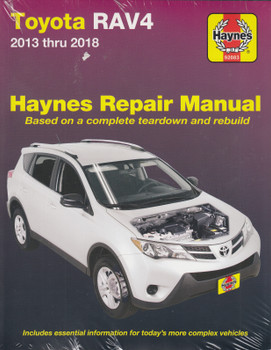 Toyota Rav4 2013 - 2018 Workshop Manual (Haynes, 92083) (9781620923252)
