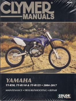 Yamaha TT-R50, TT-R110, TT-R125 2004 - 2017 Workshop Manual (Clymer, CM288)