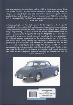 MG Magnette (Paul Batho, ISBN 9781445686035)