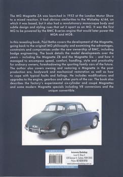 MG Magnette (Paul Batho, ISBN 9781445686035)