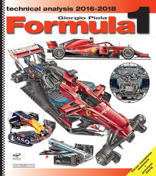 Formula 1 Technical Analysis 2016 - 2018 (Giorgio Piola, Hardcover 2019) (9788879116848)