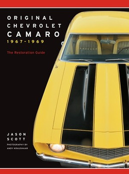 Original Chevrolet Camaro 1967 - 1969 (Jason Scott, paperback) (9780760365908)