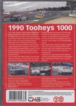 Magic Moments of Motorsport - Bathurst 1990 - Tooheys 1000 DVD (9340601002364)