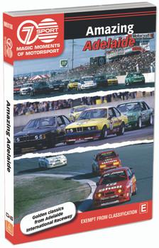 Magic Moments of Motorsport - Amazing Adelaide DVD (9340601002371)