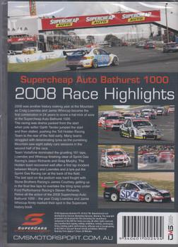 Supercheap Auto Bathurst 1000 2008 Race Highlights DVD (9340601002494)