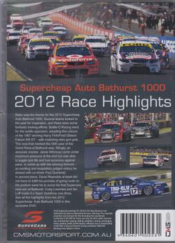 Supercheap Auto Bathurst 1000 2012 Race Highlights DVD (9340601002531)