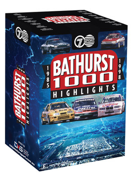 Seven Sports Bathurst Highlights 1985 to 1998 DVD Box Set (9340601002395)