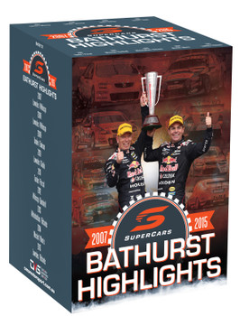 Supercars Bathurst Highlights 2007 to 2015 DVD Box Set (9340601002388)