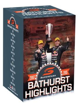 Supercars Bathurst Highlights 2007 to 2015 DVD Box Set (9340601002388)