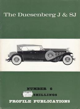 Car Profile Publications No 6 - The Duesenberg J & SJ