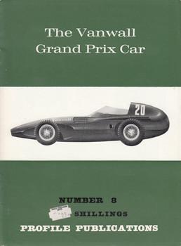 Car Profile Publications No 8 - The Vanwall Grand Prix Car