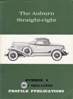 Car Profile Publications No 9 - The Auburn Straight-eight