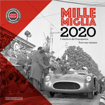 Mille Miglia Post-War Winners 2020 Calendar (9788879117456)