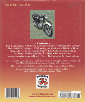 The Triumph Tiger Cub Bible (Mike Estall, 2003) (9781904788096)