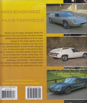 Lotus Europa - Colin Chapman's mid-engined Masterpiece (Matthew Vale) (9781787112841)