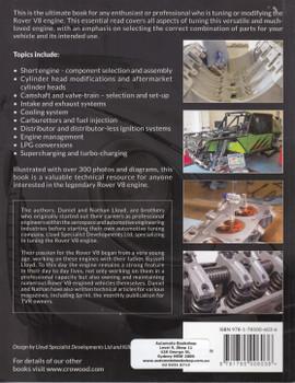 Tuning and Modifying the Rover V8 Engine (Daniel R. Lloyd, Nathan J. Lloyd)) (9781785006036)