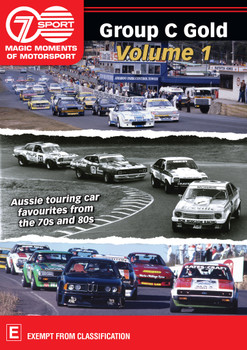 Group C Gold Volume 1 - Aussie touring car favourites from the 70s and 80s DVD (9340601002456)