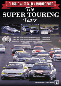 Classic Australian Motorsport Vol 5 The Super Touring Years 2 DVD Set (9340601002432)