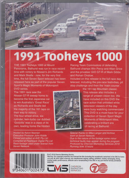 Bathurst 1991 Tooheys 1000 - Godzilla dominates at Bathurst DVD