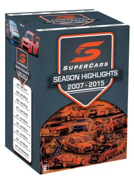 Supercars Season Highlights 2007 to 2015 DVD Set