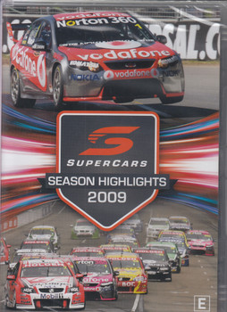 2009 Supercars Season Highlights DVD (9340601002593)