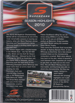 2010 Supercars Season Highlights DVD (9340601002609)