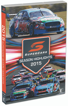 2015 Supercars Season Highlights DVD (9340601002654)
