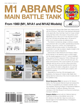 M1 Abrams Main Battle Tank From 1980 (M1, M1A1 and M1A2 Models) Owners' Workshop Manual (9781785210990)