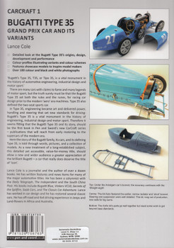 Type 35 Grand Prix Car and its Variants (Lance Cole) (9781526756763)