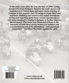 British Racing Motorcycles 250cc 1646 to 1959 - An Era Of Ingenious Innovation (Chris Pereira, 2018 reprint) (9781787113299)