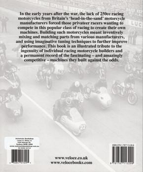 British Racing Motorcycles 250cc 1646 to 1959 - An Era Of Ingenious Innovation (Chris Pereira, 2018 reprint) (9781787113299)
