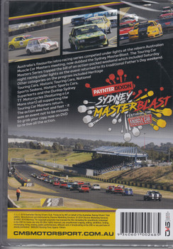 Sydney Master Blast featuring Australian Muscle Car Masters - 2019 Highlights DVD (9340601002685)