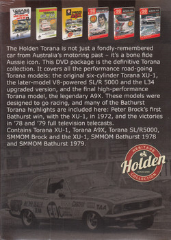 Torana - Celebrating The Holden Torana - Collecters Box DVD Set Reissue (9340601002722)
