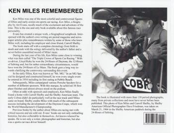Ken Miles - A Scrapbook With Remembrances (Art Evans, paperback)