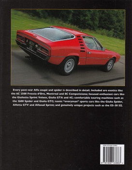 Alfa Romeo Coupes & Spiders in Detail since 1945 (Chris Rees) (9781906133863)