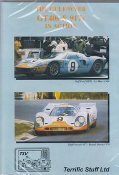 Gulf/wyer Gt40s & 917s In Action Dvd (ntsc - Region 0)