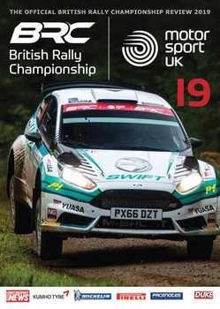 British Rally Championship Review 2019 DVD (5017559133528)