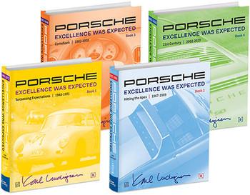 Porsche - Excellence Was Expected (Karl Ludvigsen, 2019) (9780837617695)