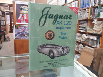 Jaguar XK 120 Explored (Revised Reprint 2019) (Copy of 9781908658005)