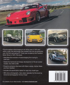 Porsche Air-Cooled Turbos 1974 - 1996 (Johnny Tipler) (9781785006692)