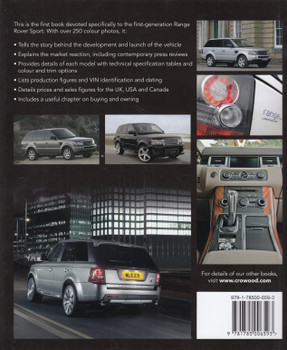 Range Rover Sport 2005 - 2013 - The Complete Story (James Taylor) (9781785006593)