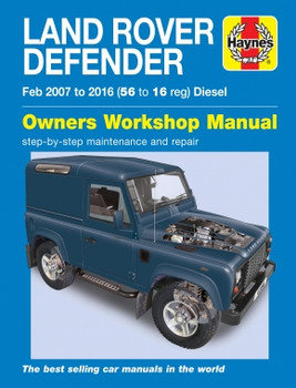 Land Rover Defender 2007 - 2016 Workshop Manual (9781785213984)