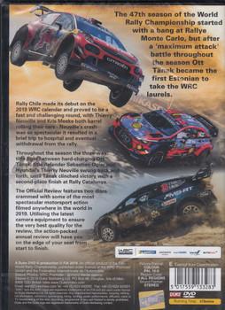 WRC FIA World Rally Championship 2019 DVD