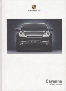 Porsche Cayenne - The Next Porsche Factory Hardcover Brochure