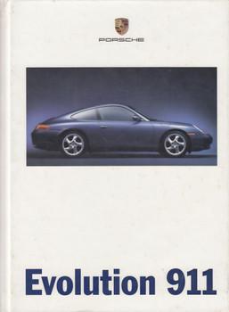 Porsche Evolution 911 Factory Hardcover Brochure