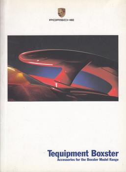 Porsche Tequipment Boxster Accessories for the Boxster Model Range Brochure